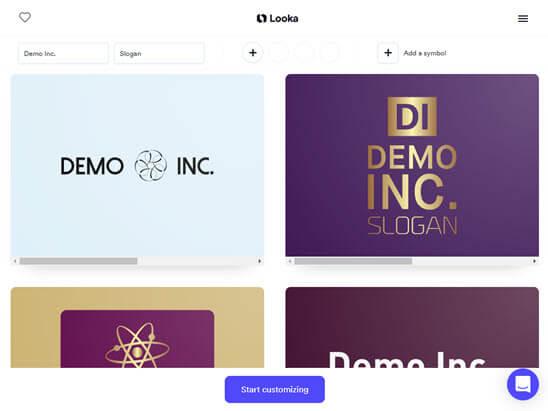 Looka Demo Logos