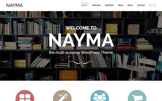 Nayma Theme
