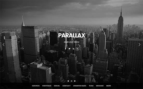Parallax Theme Photography