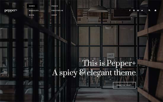 Pepper Theme Podcast