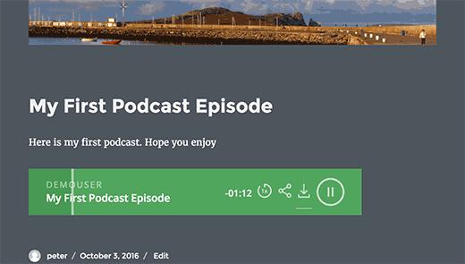 Podcastpublished