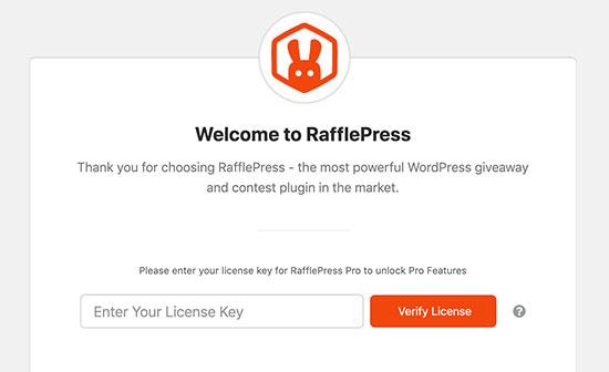 Rafflepress License