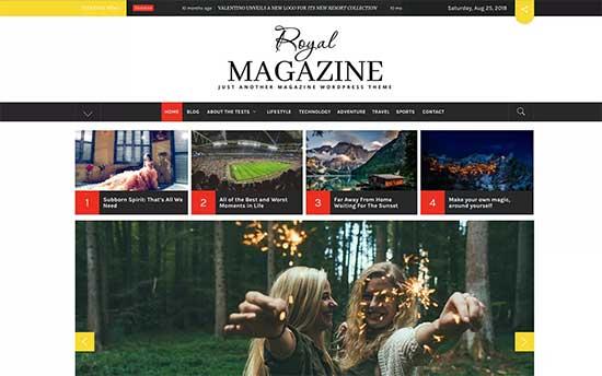 Royalmagazine Theme