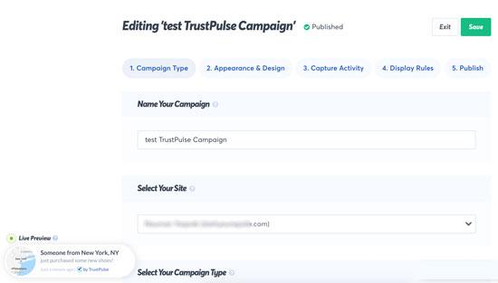 Trustpulse Campaign