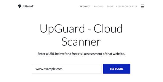 Upguardscanner