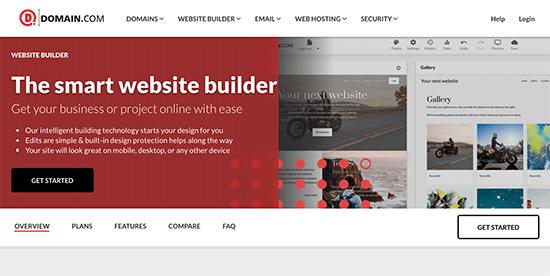 Domain Com Website Builder