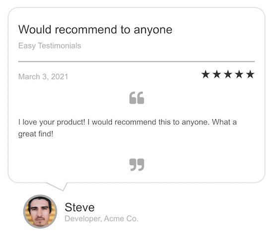 Easy Testimonials Plugin Review