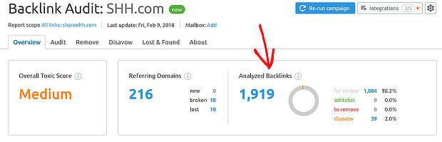 Semrush Analyze Backlinks1