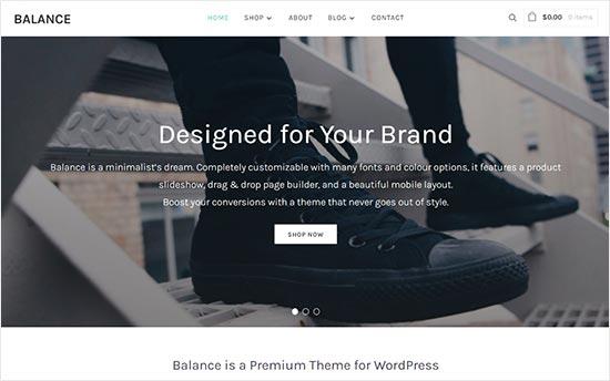 Balance Theme Fashion Blog