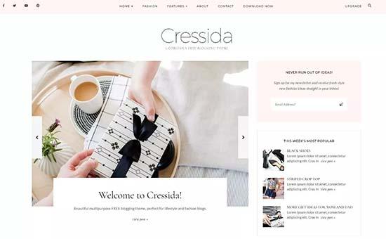 Cressida Theme Moda