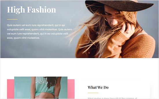Divi Fashion Blog