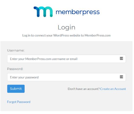 Login To Your Memberpress Account