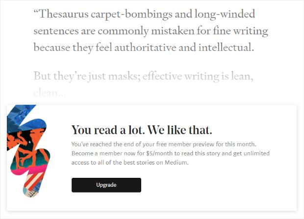Medium Content Locking