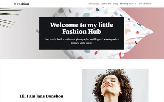 Neve Themes Fashion Blog