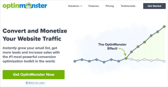 Optinmonster Website
