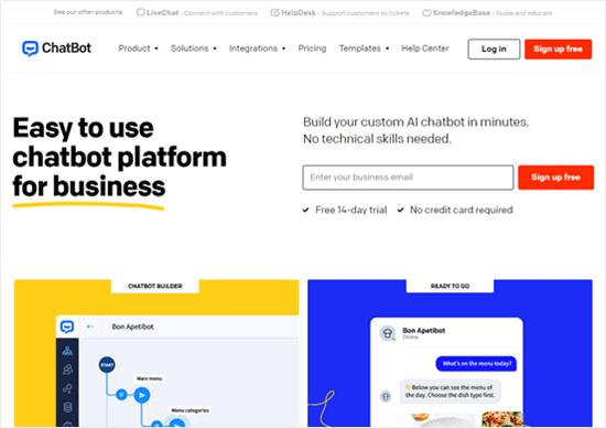 Chatbot Website
