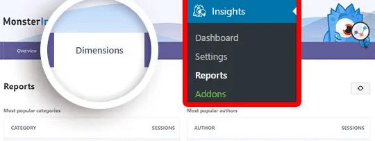 Custom Dimensions Report