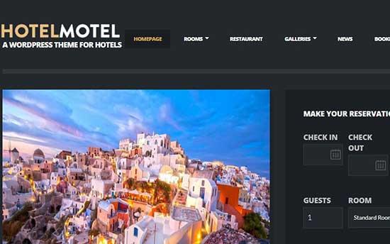 Hotelmotel Theme