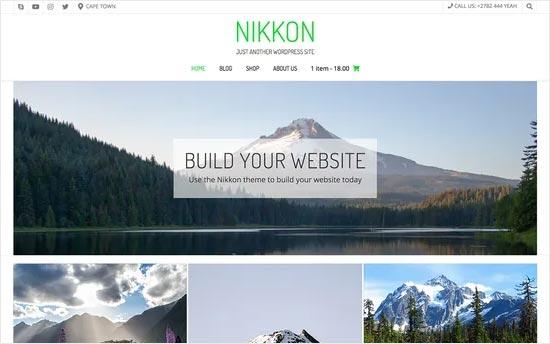 Nikkon Portfolio Theme