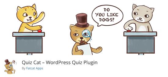 Quiz Cat Quiz Plugin