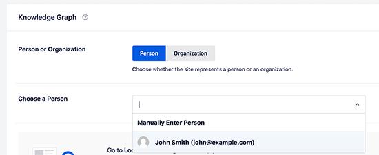 Person Metadata