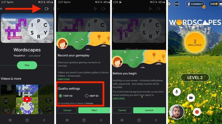 Registrare Schermo Android Con Google Play