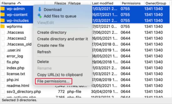 Access Folder Permissions