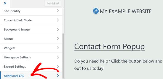 Add Custom Css In Wordpress Theme Customizer