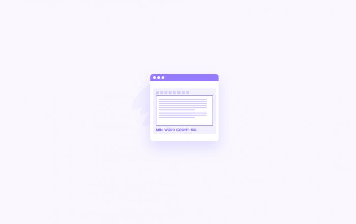 Come Impostare Un Numero Minimo Di Parole Per I Post Di Wordpress 700x441